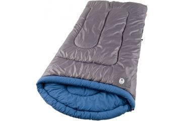 Coleman Weather Scoop 39in. x 84in. Sleeping Bag, White Water Cool Weather 187525