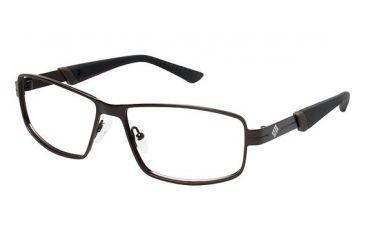 Columbia Anderson Peak Progressive Prescription Eyeglasses - Frame BROWN/BROWN, Size 56/14mm CBANDERSONPK02