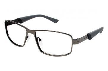 Columbia Anderson Peak Progressive Prescription Eyeglasses - Frame GUNMETAL BLACK, Size 56/14mm CBANDERSONPK01
