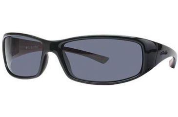 Columbia Auburn Single Vision Prescription Sunglasses CBAUBURNPZ602 - Frame Color Black-Thunderbird Red