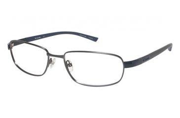 Columbia Bennet Pass Bifocal Prescription Eyeglasses - Frame Pewter/Blue, Size 58/18mm CBBENNETPASS01