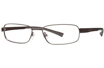 Columbia Big Bend Bifocal Prescription Eyeglasses - Frame Semi Matte Brown/Brown-Tank, Size 58/18mm CBBIGBEND03
