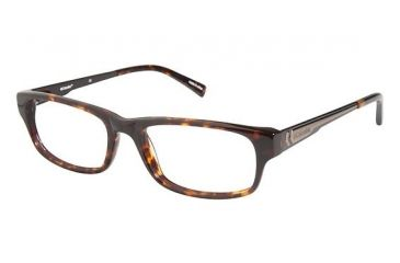 Columbia BIRNEY Progressive Prescription Eyeglasses - Frame Red Havana/Matte Brown, Size 53/17mm CBBIRNEY02