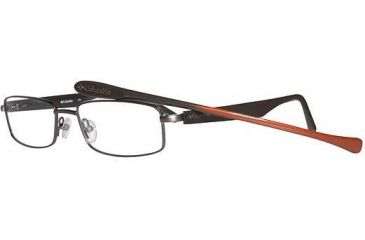 Columbia Blackmore Single Vision Prescription Eyeglasses - Frame Brown/Brown/Brn-Org, Size 52/16mm CBBLACKMORE01