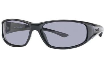 Columbia Borrego Bifocal Prescription Eyeglasses - Frame Black Gloss-Metallic Grappa, Lens Color Smoke, Size 61/16mm CBBORREGOPZ601