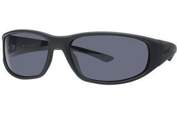 350839c0cb1a Columbia Borrego Sunglasses - Frame Matte Black-Shiny Black, Lens Color  Smoke, Size
