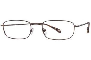 Columbia Brewha 100 Single Vision Prescription Eyeglasses - Frame Gunmetal Gloss, Size 52/19mm CBBREWHA10001