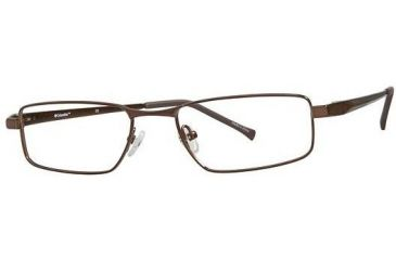 Columbia Bristol Eyeglass Frames - Frame Shiny Brown, Size 52/18mm CBBRISTOL01
