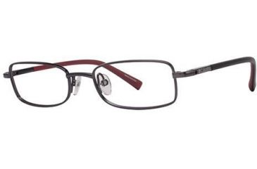 Columbia Camp Roc Progressive Prescription Eyeglasses - Frame Gunmetal Black, Size 46/15mm CBCAMPROC01