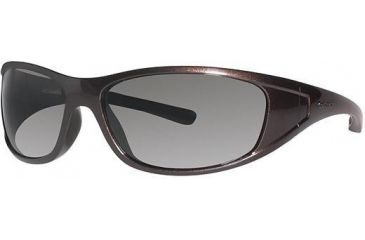 Columbia Chute Sunglasses - Frame Metallic Grappa, Lens Color Brown, Size 62/15mm CBCHUTEPZ430