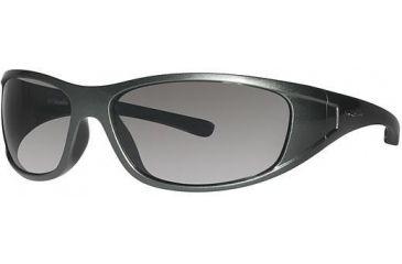 Columbia Chute Sunglasses - Frame New Metallic Tank/Metallic Black, Lens Color Grey, Size 62/15mm CBCHUTEPZ639