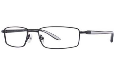 Columbia Cliff Lake 130 Bifocal Prescription Eyeglasses - Frame Black/White, Size 53/18mm CBCLIFFLAKE13003