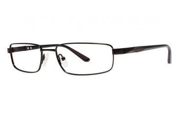 Columbia Coulson Single Vision Prescription Eyeglasses - Frame DARK BROWN/BROWN, Size 53/17mm CBCOULSON01
