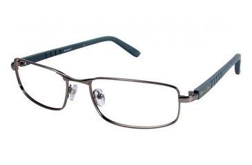 Columbia CROWN POINT 100 Single Vision Prescription Eyeglasses - Frame GUN/GREY, Size 59/19mm CBCROWNPT10003