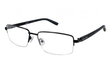 Columbia CROWN POINT 200 Eyeglass Frames - Frame BLACK/BLACK, Size 58/18mm CBCROWNPT20001