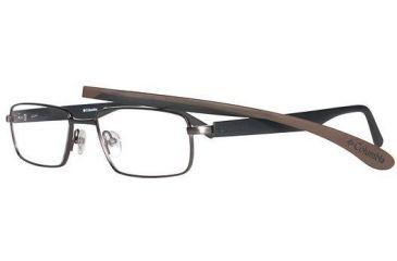 Columbia Cumberland Progressive Prescription Eyeglasses - Frame Brown/Black/Blk/Brn, Size 53/16mm CBCUMBERLAND01