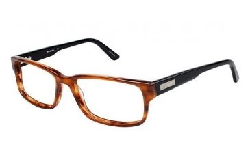 Columbia DESCHUTES Single Vision Prescription Eyeglasses - Frame BROWN/TORT, Size 58/17mm CBDESCHUTES01