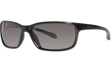 Columbia EL CAPITAN Sunglasses - Frame Shiny Black/Thunderbird Red, Lens Color Grey, Size 60/15mm CBCAPITANPZ602