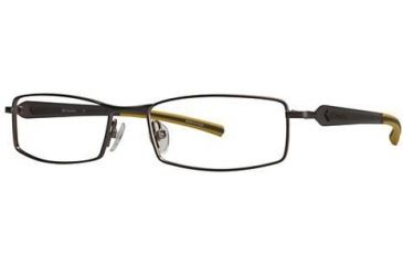 Columbia Elias Bifocal Prescription Eyeglasses - Frame Brown/Yellow, Size 54/16mm CBELIAS01