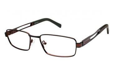 Columbia ELK HORN Bifocal Prescription Eyeglasses - Frame OLIVE/BROWN, Size 54/18mm CBELKHORN01