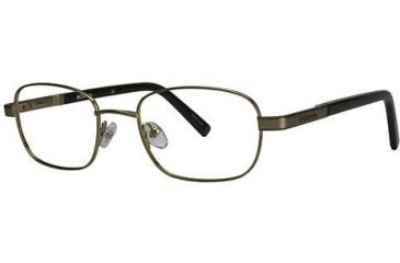 Columbia Emerald Bay Single Vision Prescription Eyeglasses - Frame Brown/Gold, Size 51/19mm CBEMERALDBAY01