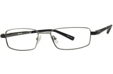 Columbia Gifford Progressive Prescription Eyeglasses - Frame Matte Gunmetal/Black, Size 54/16mm CBGIFFORD01