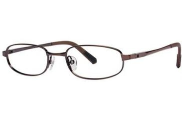 Columbia Grizzly Creek 101 Single Vision Prescription Eyeglasses - Frame Brown, Size 48/17mm CBGRIZZCREEK10101