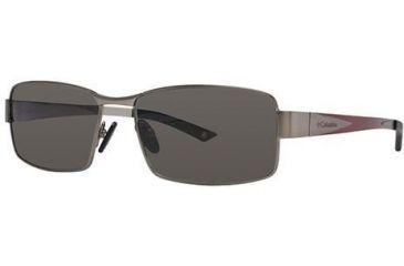 Columbia Hudson 100 Progressive Prescription Sunglasses CBHUDSONPZ10001 - Frame Color: Medium Gunmetal / Intense Red