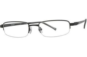 Columbia Klamath Bifocal Prescription Eyeglasses - Frame Shiny Black, Size 53/19mm CBKLAMATH01