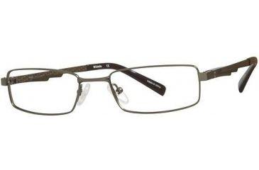 Columbia Mitchell Creek Progressive Prescription Eyeglasses - Frame Tank/Brown, Size 50/16mm CBMITCHCRK01