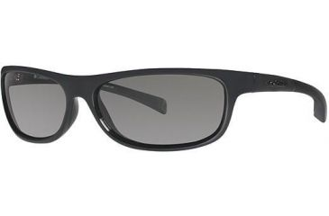 Columbia Panorama Sunglasses - Frame Shiny Black/Metallic Light Carbon, Lens Color Grey, Size 58/14mm CBPANORAMAPZ603