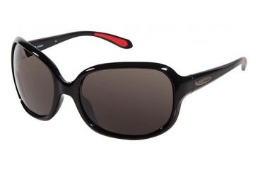 Columbia Pearl Lake Sunglasses - Frame BLACK/RED, Lens Color Smoke CBPEARLLAKE01