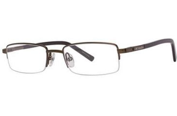 Columbia Raven Single Vision Prescription Eyeglasses - Frame Tank/Brown, Size 48/17mm CBRAVEN03