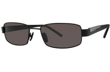 Columbia Ridgefield 20 Single Vision Prescription Sunglasses CBRIDGEFIELD20PZ01 - Frame Color: Black / Smoke