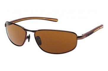 Columbia Ripsaw 100 Bifocal Prescription Eyeglasses - Frame GRAPPA/GRAPPA, Lens Color Brown CBRIPSAW10003
