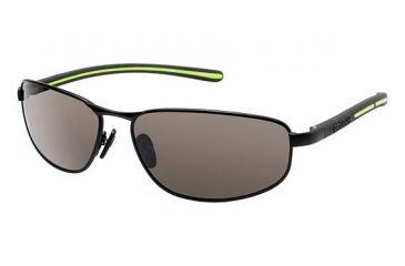 Columbia Ripsaw 100 Bifocal Prescription Eyeglasses - Frame MATTE BLACK/BLACK, Lens Color Smoke CBRIPSAW10001