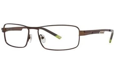 Columbia RockCreek Bend Single Vision Prescription Eyeglasses - Frame Semi Matte Dark Brown, Size 56/16mm CBROCKCREEKBEND02