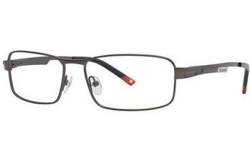 Columbia RockCreek Bend Bifocal Prescription Eyeglasses - Frame Semi Matte Dark Grout, Size 56/16mm CBROCKCREEKBEND01