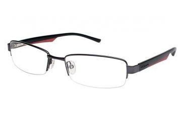 Columbia Rogers Peak Single Vision Prescription Eyeglasses - Frame Pewter/Black CBROGERSPEAK03
