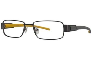 Columbia Selkirk Bifocal Prescription Eyeglasses - Frame Gunmetal/Yellow, Size 52/16mm CBSELKIRK01