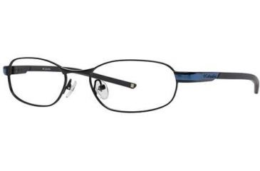 Columbia Silver Falls 101 Progressive Prescription Eyeglasses - Frame Shiny Black/ Oxide Blue, Size 52/17mm CBSILVERFALLS10101