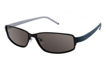 Columbia SILVERTHORNE Bifocal Prescription Sunglasses CBSILVERTHORNE01 - Frame Color Matte Black/Carbon Blue
