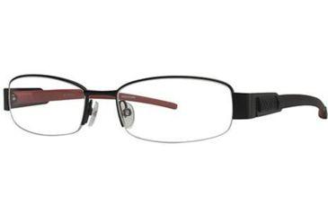 Columbia South Peak Bifocal Prescription Eyeglasses - Frame Black/Red, Size 52/17mm CBSOUTHPEAK01