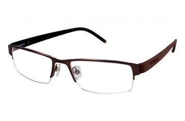 Columbia Steens Mt. Bifocal Prescription Eyeglasses - Frame Light Brown w. Dk. Brown, Size 52/17mm CBSTEENSMT03