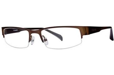 Columbia Table Rock 150 Single Vision Prescription Eyeglasses - Frame Brown Gloss, Size 52/18mm CBTABLEROCK15001