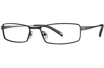 Columbia Tabor 111 Single Vision Prescription Eyeglasses - Frame Black/Gunmetal, Size 55/17mm CBTABOR11101