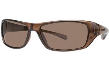 Columbia Thunderstorm Progressive Prescription Sunglasses CBTHUNDERSTRMPZ502 - Frame Color: Crystalline Brown