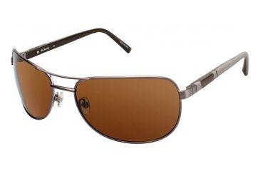 Columbia TIMPANOGAS Bifocal Prescription Eyeglasses - Frame MATTE GRAPPA/GRAPPA, Lens Color Brown, Size 63/17mm CBTIMPANOGAS03