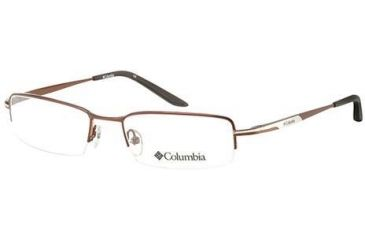 Columbia Wamala 326 Eyeglass Frames - Frame Brown/Gunmetal, Size 52/18mm CBWAMALA32602