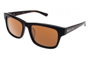 Columbia Whitney Single Vision Prescription Sunglasses CBWHITNEY01 - Frame Color Black / Tortoise